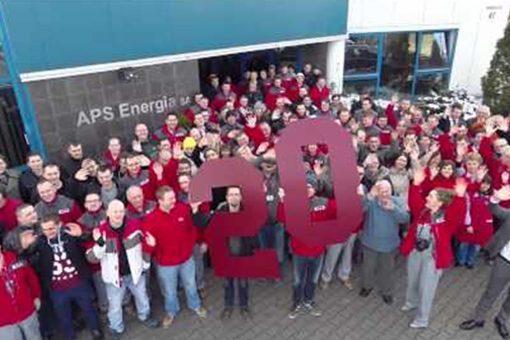 APS Energia – zespół okiem drona
