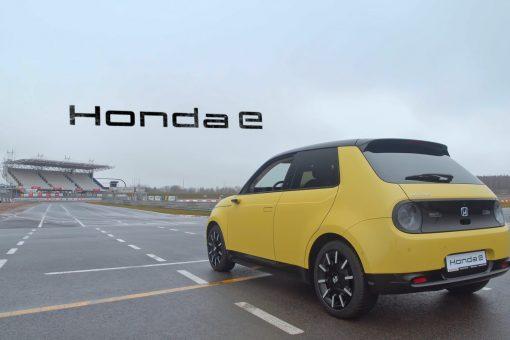 Honda e – Pierwszy samochód elektryczny Hondy