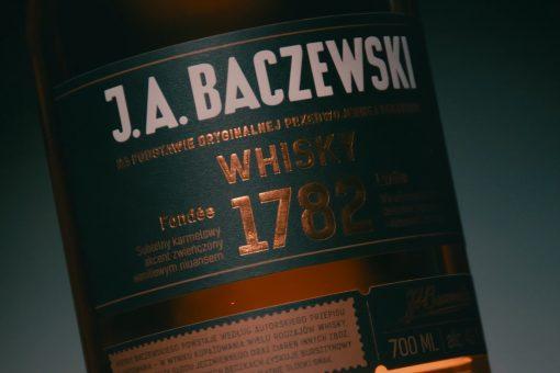 J.A. Baczewski – whisky commercial